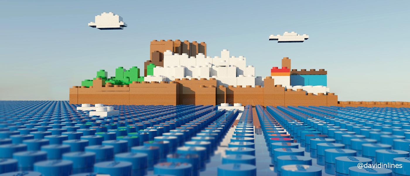 Peñiscola Lego