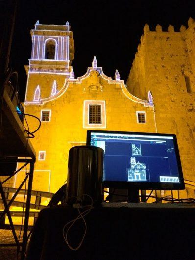 Mapping «Llum del Papa Luna»
